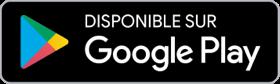 Footer - Logo Google Play pour télécharger l'application Compagnie Océane