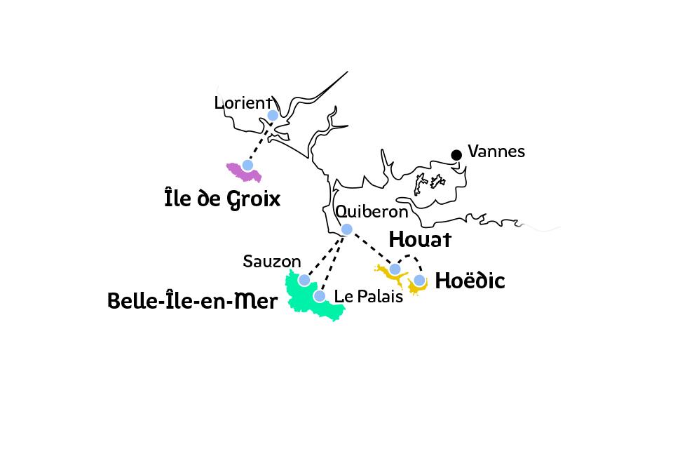 plan des traversées