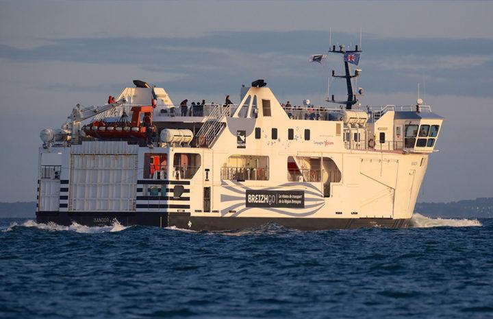 photo bateau Bangor en mer