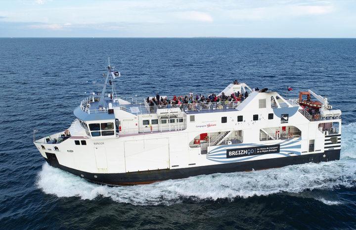 bateau Bangor en mer