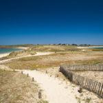 photo de la plage d'Houat