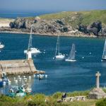 photo du port d'Houat