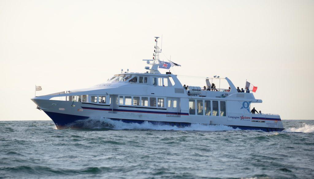 bateau Kerdonis en mer
