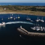 photo du port de Melvan Hoedic