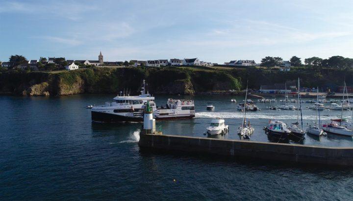 photo du bateau de Melvan île d'Houat