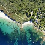vue aérienne l'île de Groix