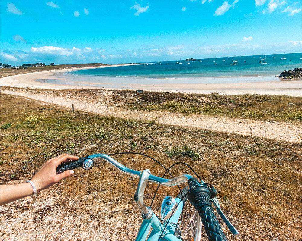 photo illustrant les promenades en vélo sur l'île de Houat