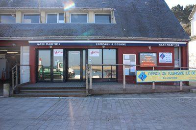 photo gare maritime île de Groix