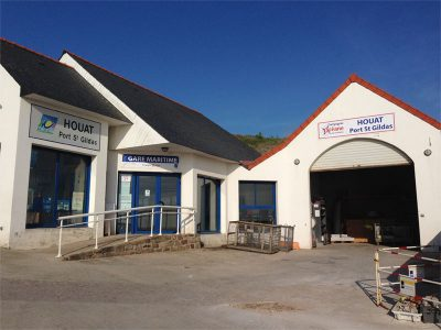 photo de la gare maritime d'Hoedic